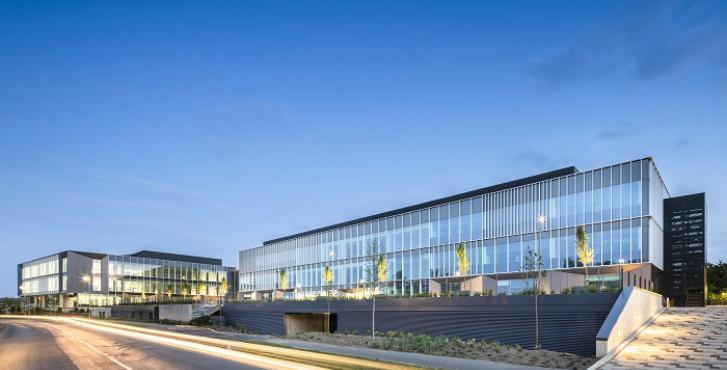 Scott Brownrigg designed Bio-Hub at Cambridge Science Park completes