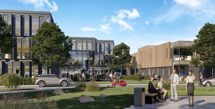 Harlow Science Park – work underway
