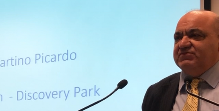 Discovery Park chairman Martino Picardo shares insight at conferences
