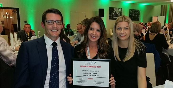 UKSPA Award for Discovery Park's Education and Tenant Community Activities
