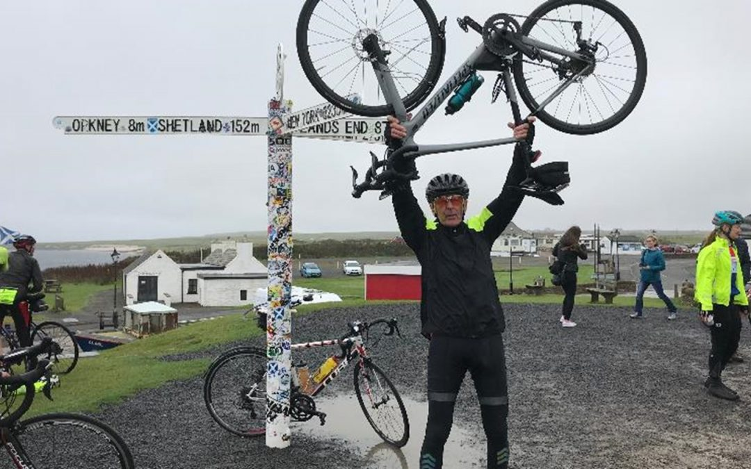 Denis makes it home – successful charity cycle for life-saving medical research
