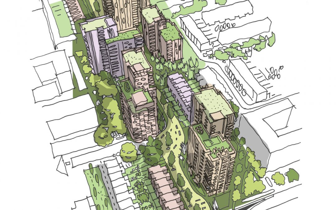 Sheppard Robson study featured in the 'Buildoffsite Linear Infrastructure Overbuild Guide'