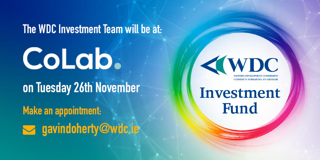 WDC Investment Team Visit CoLab on 26th November 2019