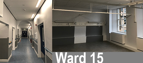Western General Ward 15, handed over on schedule