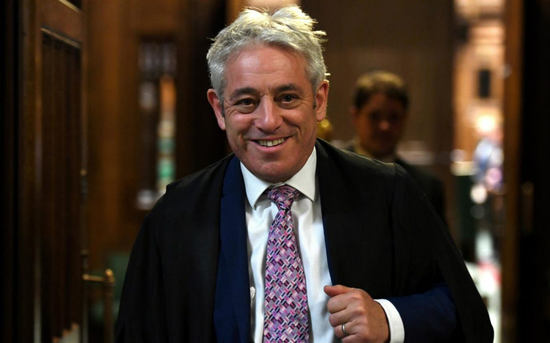 John Bercow to share his life story at our London Chapter.