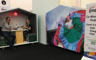 Nook meeting pods at IMEX Frankfurt
