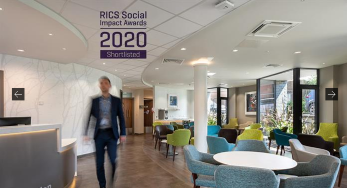 Two ADP projects shortlisted for RICS 2020 Awards