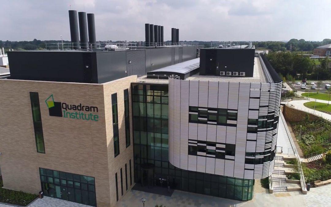Quadram Institute on Norwich Reserach Park