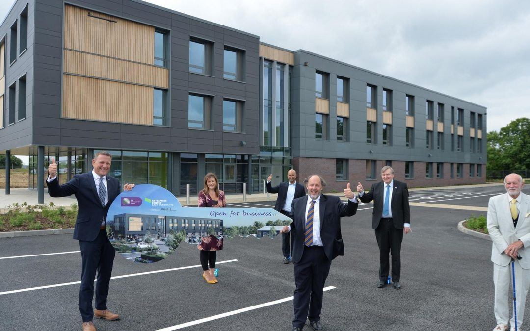 Enterprise Centre East Northants celebrates major milestone