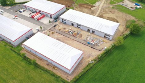Latest images & aerial video of MEPC's speculative development in the Enterprise Zone at Silverstone Park, released