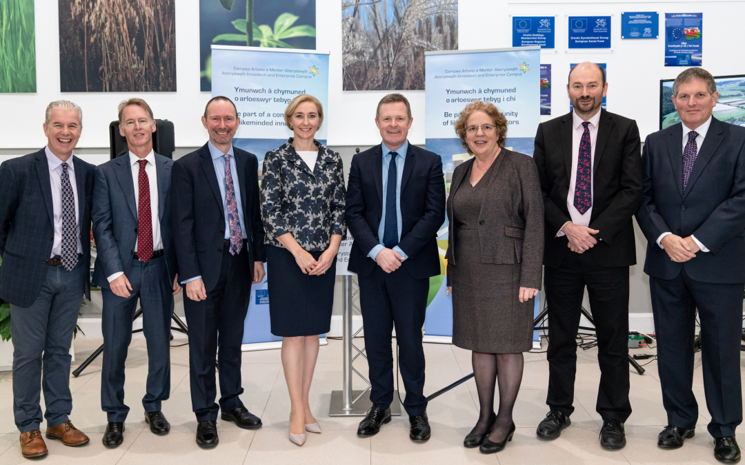 £3 Million in Additional EU Funding Awarded to AberInnovation