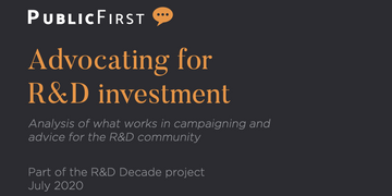 CaSE and Wellcome report – Advocating for R&D Investment