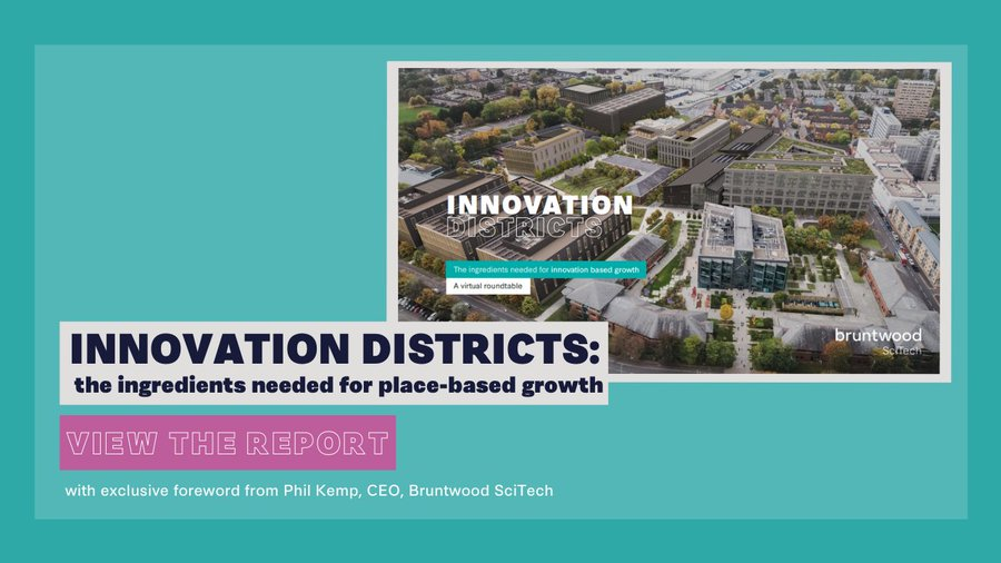 Innovation Districts: the ingredients needed for place-based growth