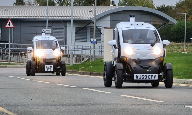 O2 launches first commercial 5G satellite lab in the UK to test autonomous vehicles at Harwell Campus