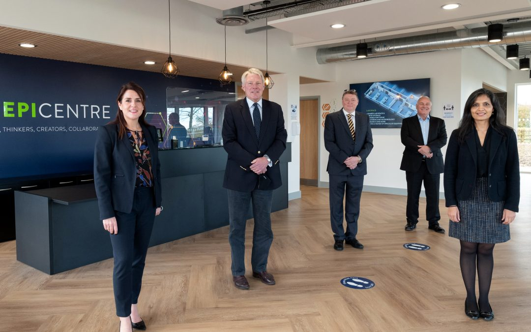 The Epicentre opens at Haverhill Research Park