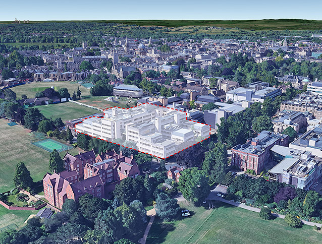 NBBJ appointed to design new Centre for Life and Mind Sciences for University of Oxford