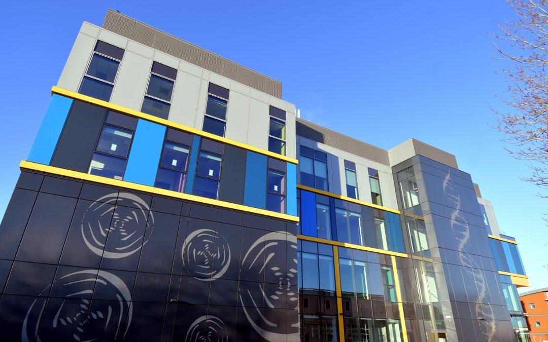 Rosalind Franklin Institute reaches key construction milestone