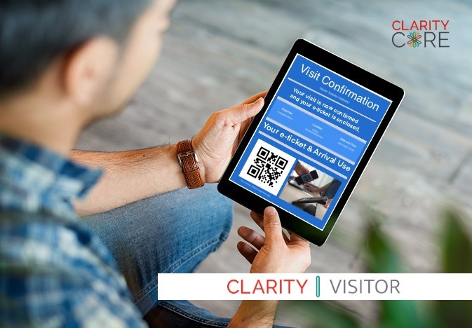 CLARITY CORE introduces new touch-free access features to its Visitors Sign-in solution.