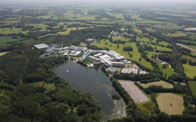 Alderley Park Conference Centre selected as an NHS Covid-19 Vaccination Centre.