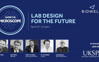 Bidwells Lab Design for the Future webinar in association with UKSPA announced