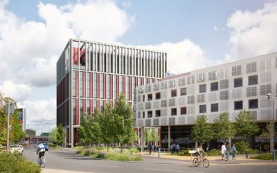 Work begins on Birmingham's first smart-enabled building at Innovation Birmingham Campus
