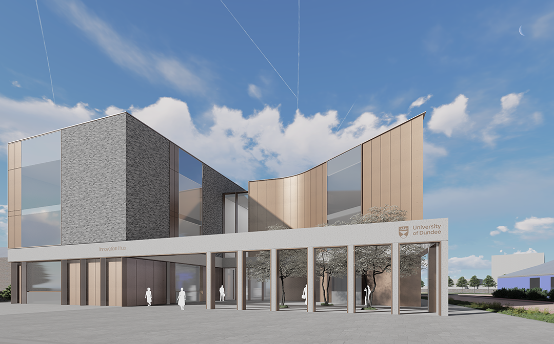 Oberlanders Architects LLP working with University of Dundee on proposed Life Sciences Innovation Hub