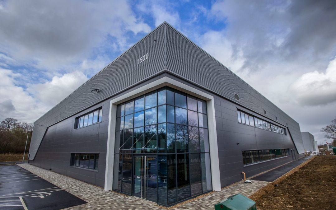 Industrial property at Silverstone Park continues to attract new business occupiers