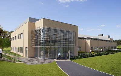Microbiotica moves into new building at Chesterford Research Park