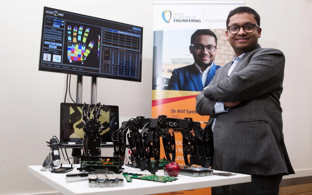 The biggest deal by a British robotics company signed in the North East of England