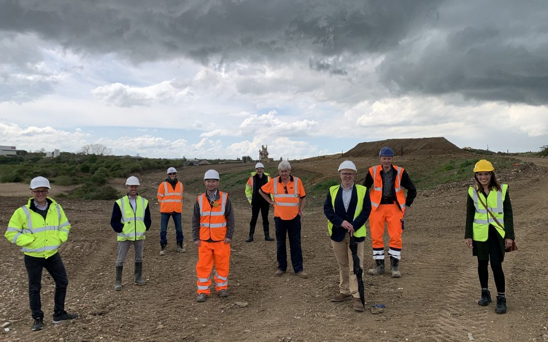 Construction begins on Bedford Green Technology and Innovation Park