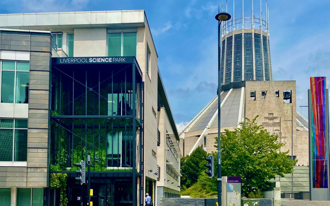 Liverpool Science Park unveils new look