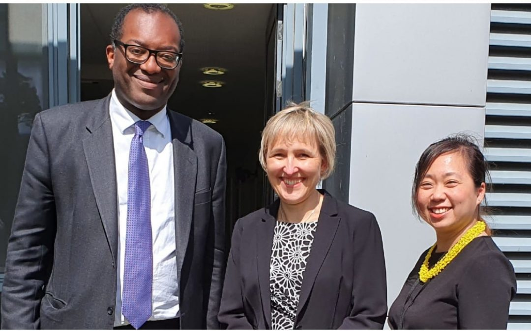 The Secretary of State for BEIS visits NETPark