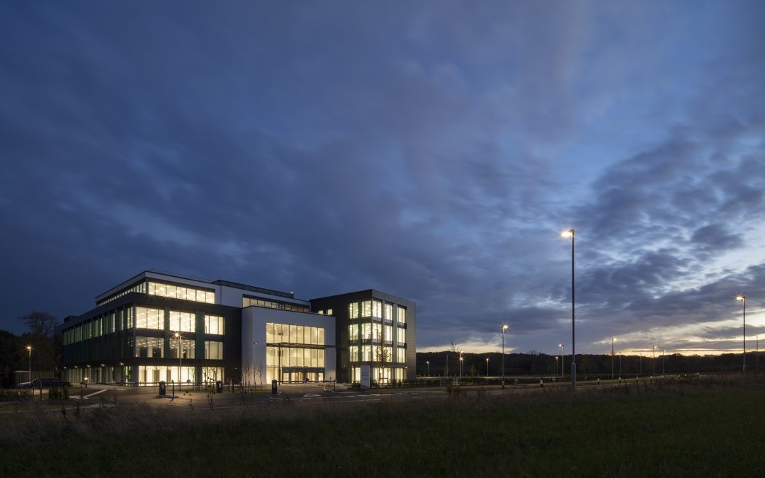 Loughborough receives international recognition for pioneering building