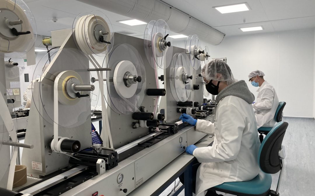 Merit completes critical lateral flow test manufacturing facility for Abingdon Health