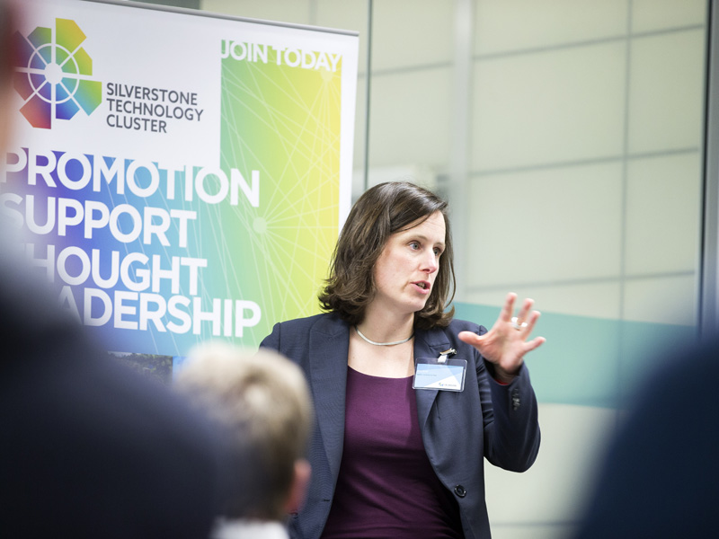 How we turned the STC from a hunch into a reality – Roz Bird, Chair, Silverstone Technology Cluster