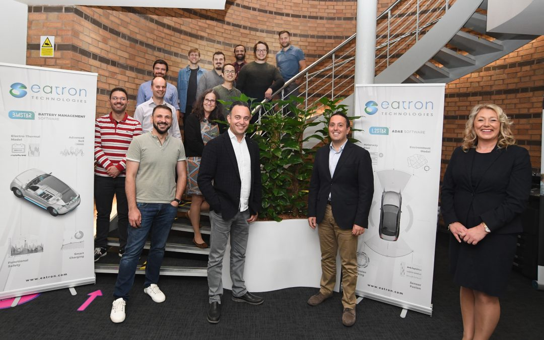 Eatron Technologies expand at the University of Warwick Science Park's Innovation Centre