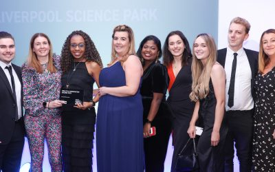 Liverpool Science Park wins prestigious Downtown in Business Health & Innovation award