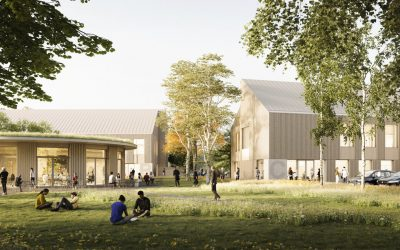 Sheppard Robson reveals plans for a series of buildings at Silwood Science Park